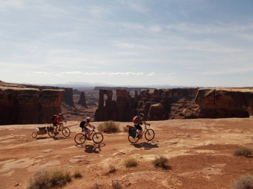 Biking Utah's White Rim