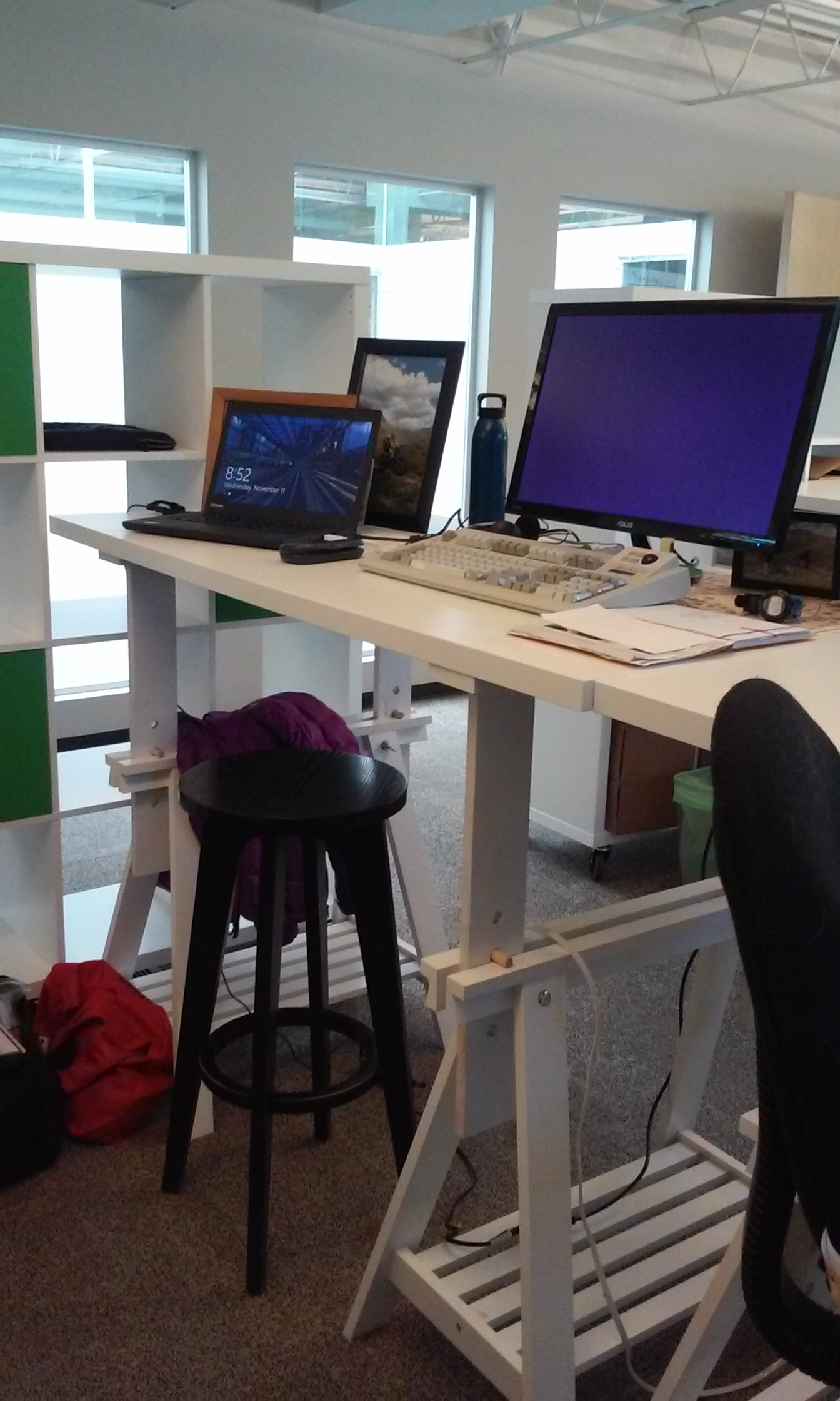 An Easy Sit Stand Desk Option Thoughts On Translation